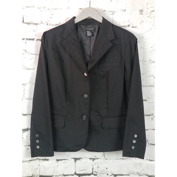 SANDRO Classic Black Stretch Blazer